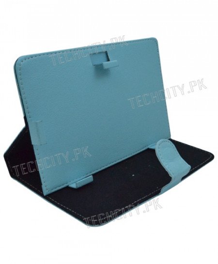 Blue Colour Flip Leather Case for 7 inch Tablet PC