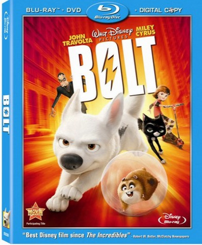 Bolt (2008) (3D Blu-Ray Movie)