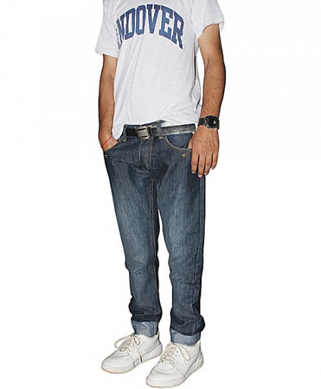 Cross Hatch Dark Blue Mens Jeans LK-026