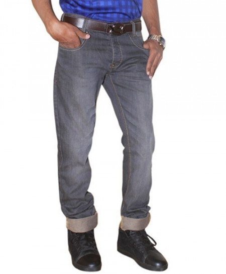 Park Bond Grey Shaded Mens Jeans LK-034