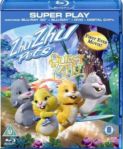 Quest For Zhu (3D Blu-Ray Movie)