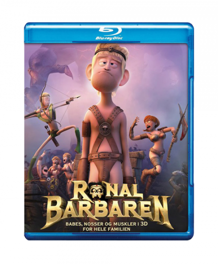 Ronal The Barbarian (2011) (Blu Ray)