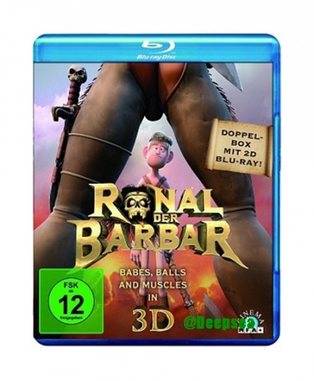 Ronal the Barbarian (2011) (3D Blu-Ray Movie)