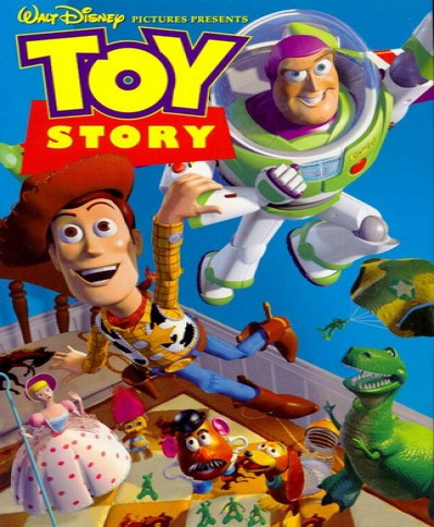 Toy Story (1995) (3D Blu-Ray Movie)