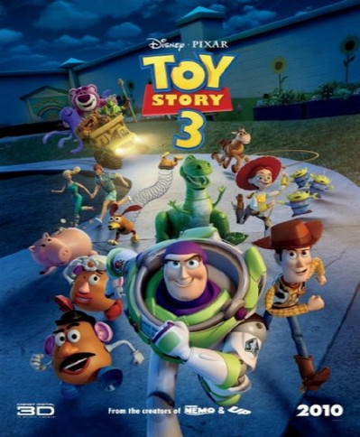 Toy Story 3 (2010) (3D Blu-Ray Movie)