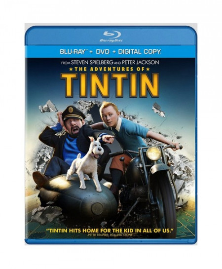 The Adventures of Tintin (2011) (3D Blu-Ray Movie)