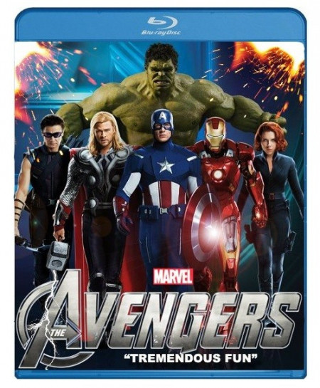 The Avengers (2012) (Blu-Ray Movie)