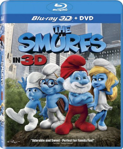 The Smurfs (2011) (3D Blu-Ray Movie)