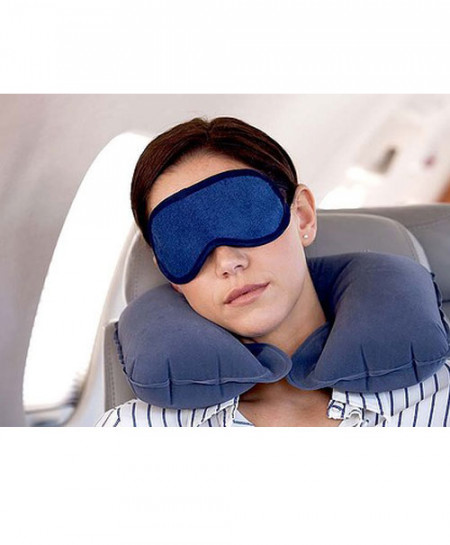 Air Pillow with Eye Cover