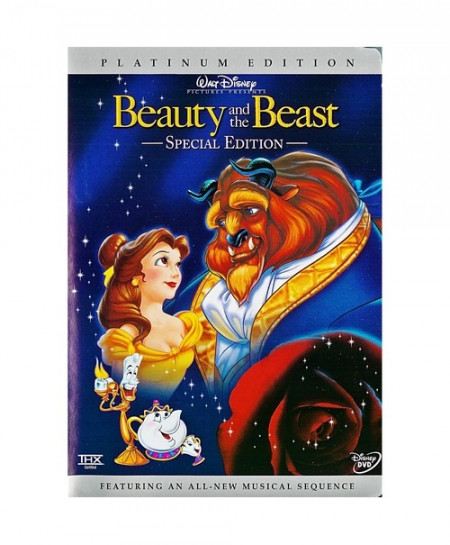 Beauty and the Beast (1991) (3D Blu-Ray Movie)