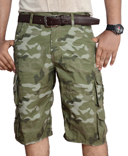 Camouflage 8 Pockets Mens Short