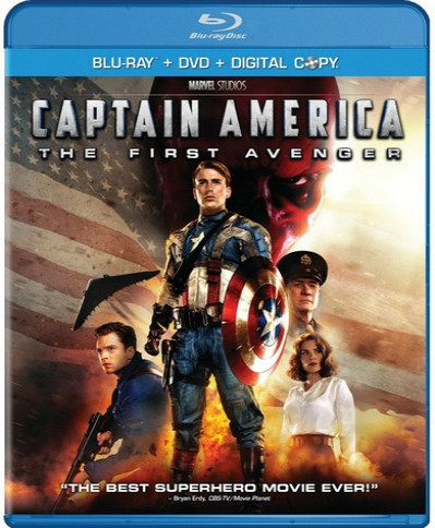 Captain America: The First Avenger (2011) (3D Blu-Ray Movie)