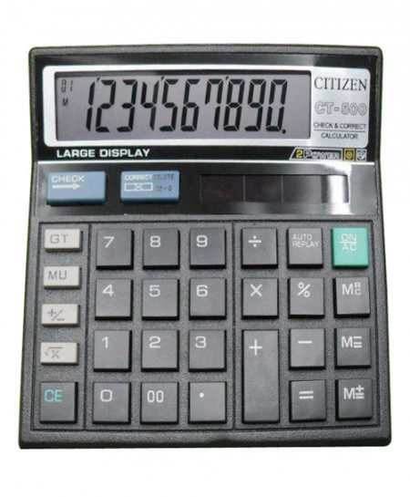 Citizen Ct-500 Calculator