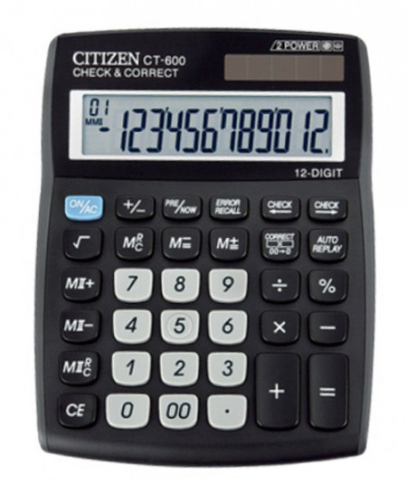 Citizen CT-600J Basic Calculator