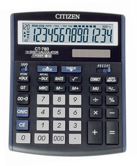Citizen CT-780J Basic Calculator