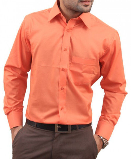 Coral Men Formal Shirt