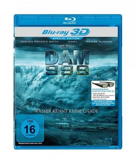 Dam 999 3D (2011) (3D Blu-Ray Movie)