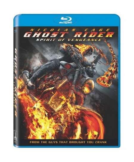 Ghost Rider Spirit of Vengeance (2011) (3D Blu-Ray Movie)