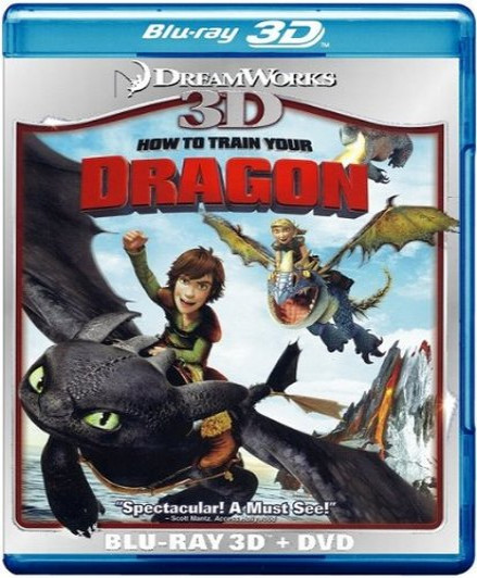How to Train Your Dragon (2010) (3D Blu-Ray Movie)