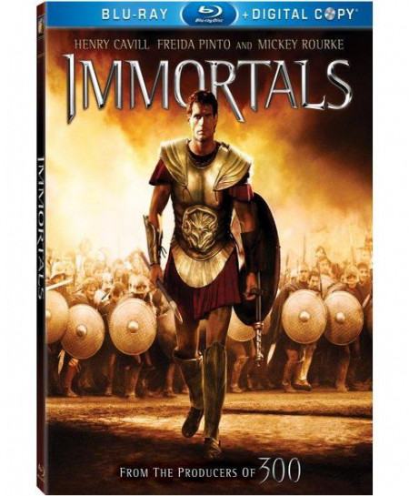 Immortals (2011) (3D Blu-Ray Movie)