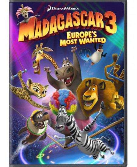 Madagascar 3: Europe's Most Wanted (2012) (Blu-Ray)