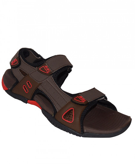 MBL Choco Brown Three Strap Sandal SN-1462