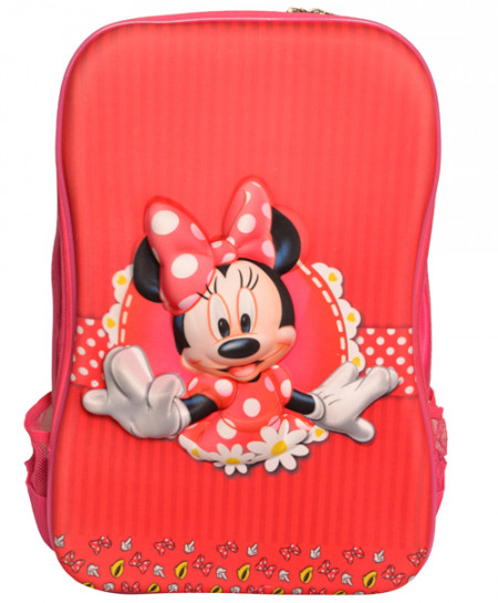 Minnie Mouse Red Pink School Backpack