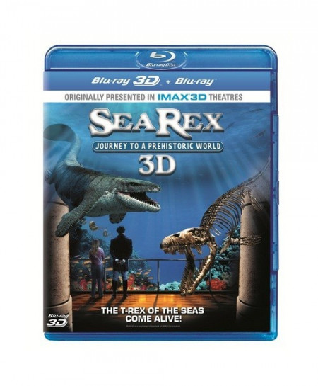 Sea Rex 3D Journey to a Prehistoric World (2010) (3D Blu-Ray Movie)