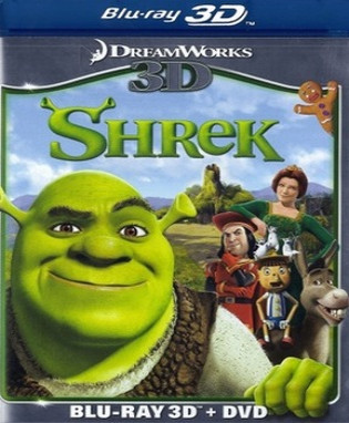 Shrek (2001) (3D Blu-Ray Movie)