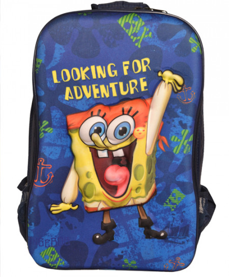 SpongeBob Blue School Backpack