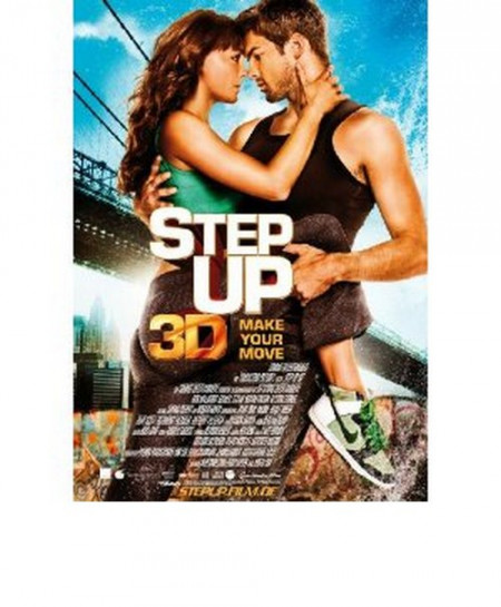 Step Up 3D (3D Blu-Ray Movie)