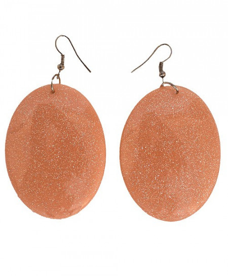 Terracotta Stone Earrings