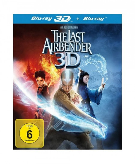 The Last Airbender (2010) (3D Blu-Ray Movie)