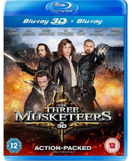 The Three Musketeers (2011) (3D Blu-Ray Movie)