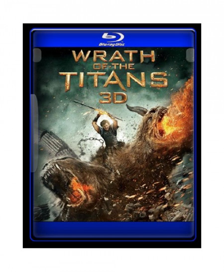 Wrath of the Titans (2012) (3D Blu-Ray Movie)