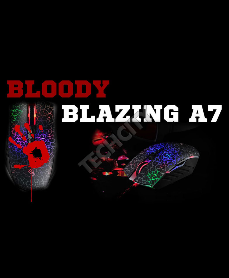 A4tech Bloody Ultra Blazing Gaming Mouse A7