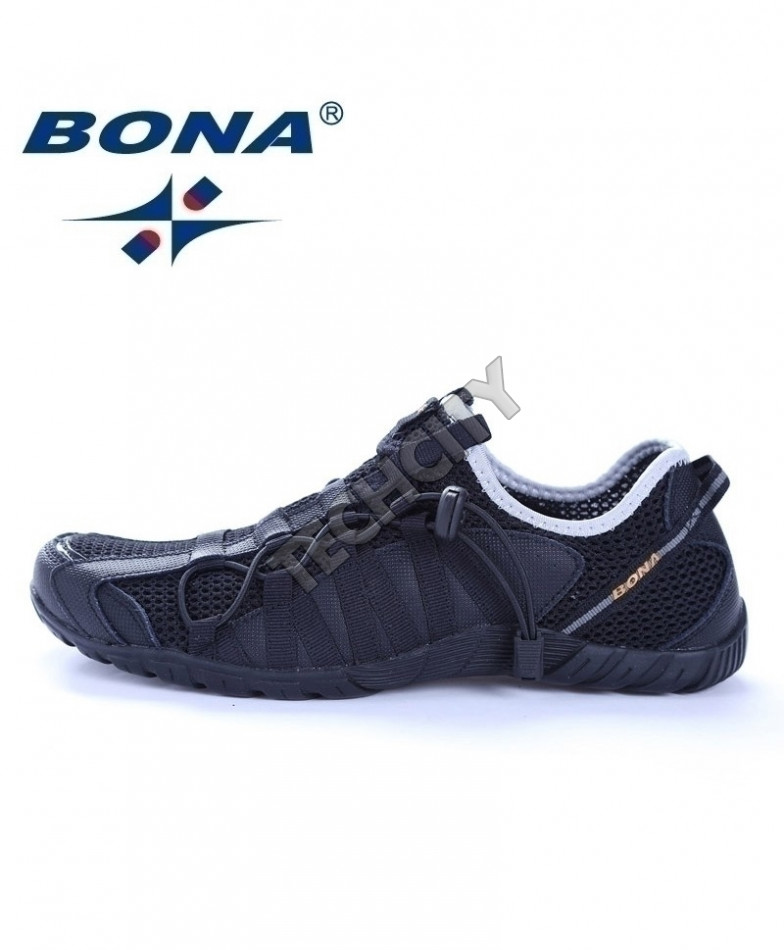 info for 2fad2 3a835 BONA Black Running Shoes